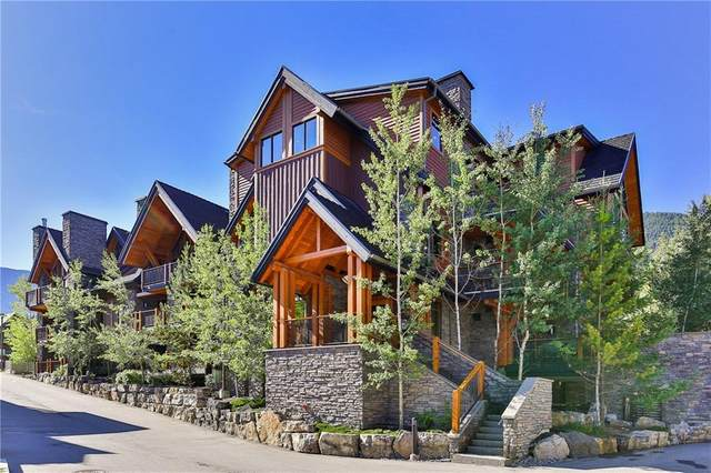 101A Stewart Creek Landing #1102, Canmore, AB T1W 0E3 (#A1096361) :: Redline Real Estate Group Inc