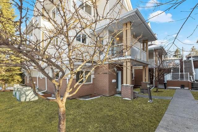 1909 36 Avenue SW #104, Calgary, AB T2G 2G6 (#A1096446) :: Redline Real Estate Group Inc