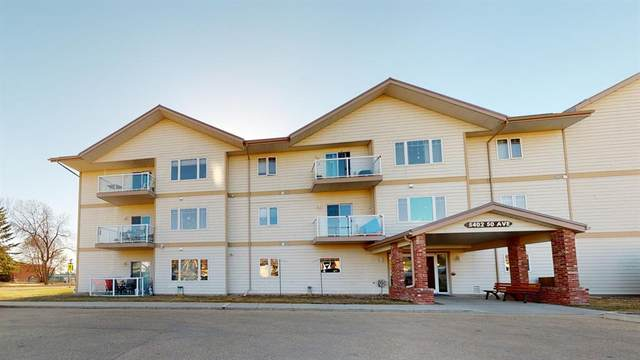 5402 50 Avenue #202, Stettler Town, AB T0C 2L2 (#A1096450) :: Calgary Homefinders