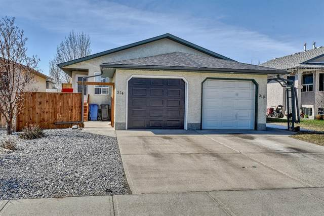 314 Strathaven Drive, Strathmore, AB T1P 1N5 (#A1096465) :: Redline Real Estate Group Inc