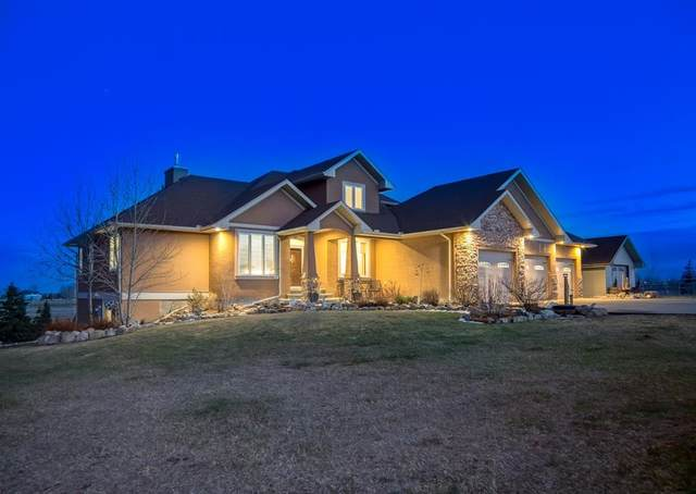 16057 Sage Valley Drive E, Rural Foothills County, AB T1V 1N1 (#A1097114) :: Calgary Homefinders