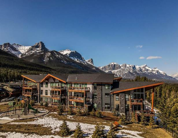 106 Stewart Creek Rise #109, Canmore, AB T1W 0N3 (#A1097209) :: Redline Real Estate Group Inc