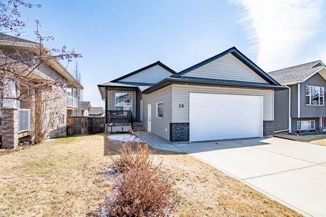 38 Taylor Drive, Lacombe, AB T4L 2N9 (#A1097633) :: Calgary Homefinders