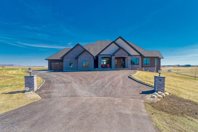 4 Windhorse Bay, Rural Rocky View County, AB T3E 2Y9 (#A1097798) :: Calgary Homefinders