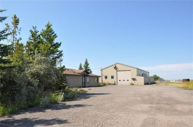80080 Maple Leaf Road E, Aldersyde, AB T0L 0A0 (#A1097840) :: Canmore & Banff