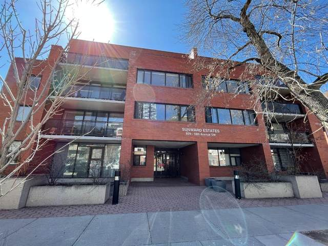 929 18 Avenue SW #302, Calgary, AB T2T 0H2 (#A1098026) :: Redline Real Estate Group Inc