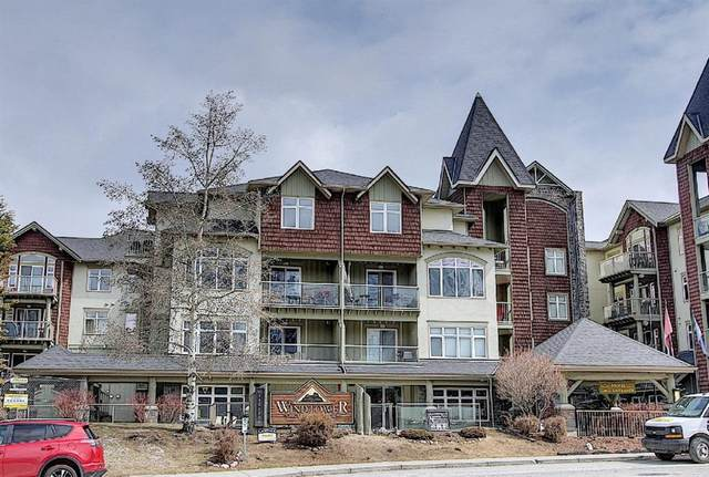 160 Kananaskis Way #311, Canmore, AB T1W 3E2 (#A1098031) :: Canmore & Banff