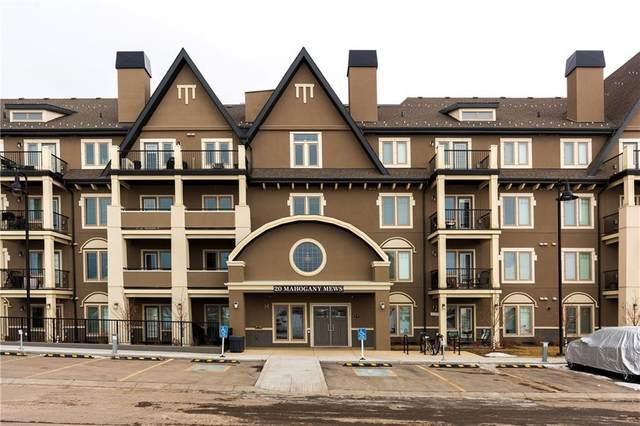 20 Mahogany Mews Mews SE #216, Calgary, AB T3M 2W8 (#A1098077) :: Redline Real Estate Group Inc