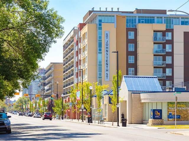 1110 3 Avenue NW #203, Calgary, AB  (#A1098153) :: Redline Real Estate Group Inc