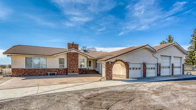 85 Delrich Meadows, Rural Rocky View County, AB T1Z 0K7 (#A1099153) :: Greater Calgary Real Estate
