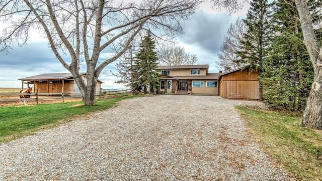 3 Khan Acres Acres SE, Rural Rocky View County, AB T1X 0J5 (#A1099542) :: Redline Real Estate Group Inc