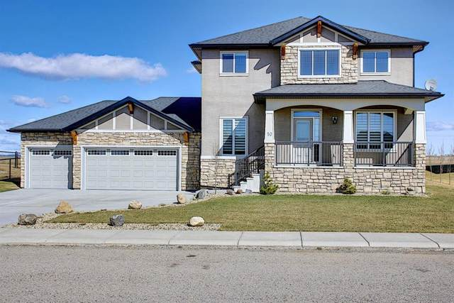 10 Monterra Way, Rural Rocky View County, AB T4C 0H1 (#A1100166) :: Calgary Homefinders