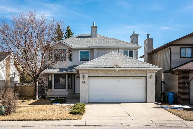 45 Hawktree Circle NW, Calgary, AB T3G 3L9 (#A1100462) :: Western Elite Real Estate Group
