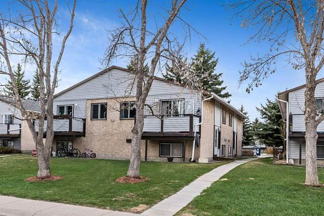 109 Stanley Avenue C, Okotoks, AB T1S 1H8 (#A1101140) :: Redline Real Estate Group Inc
