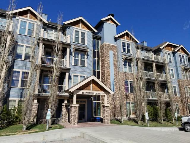 201 Sunset Drive #304, Cochrane, AB T4C 0H5 (#A1101285) :: Western Elite Real Estate Group