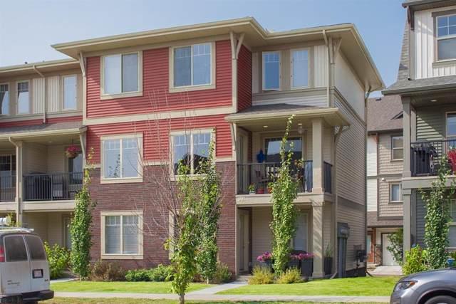 32 Horseshoe Crescent #501, Cochrane, AB T4C 2P4 (#A1101871) :: Calgary Homefinders