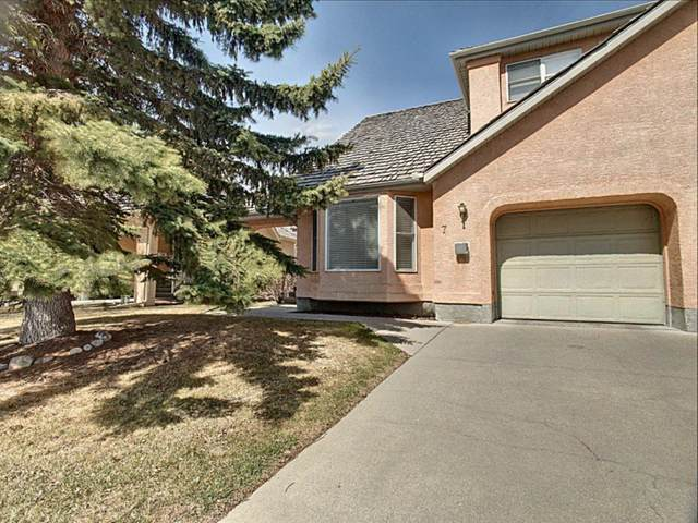 26 Quigley Drive #7, Cochrane, AB T4C 1M2 (#A1102038) :: Western Elite Real Estate Group
