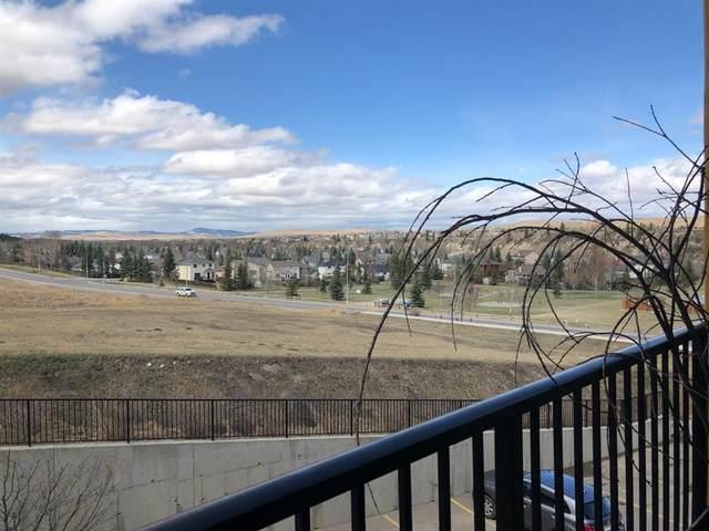 77 George Fox Trail #317, Cochrane, AB T4C 0N1 (#A1102121) :: Western Elite Real Estate Group
