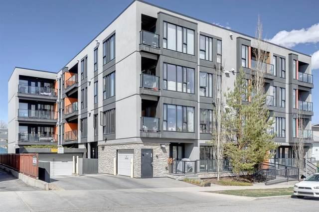 414 Meredith Road NE #405, Calgary, AB T2E 5A6 (#A1102215) :: Calgary Homefinders