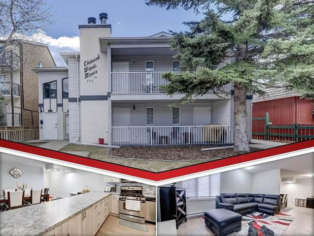 701 56 Avenue SW #102, Calgary, AB T2V 0C9 (#A1102696) :: Western Elite Real Estate Group