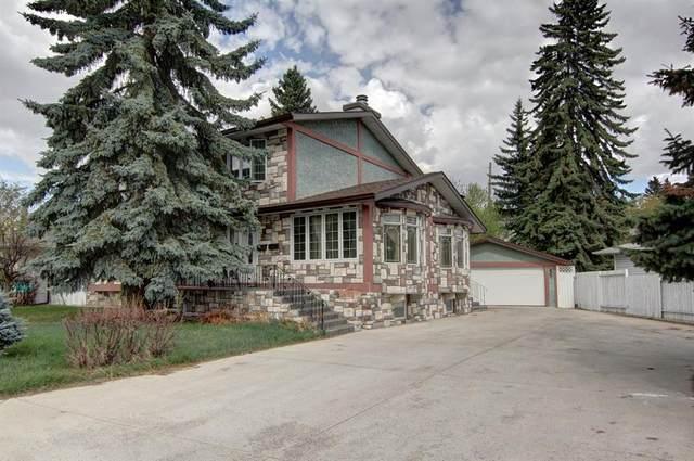 4 Commerce Street NW, Calgary, AB T2K 1T3 (#A1103120) :: Calgary Homefinders