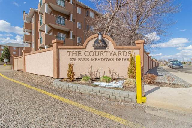278 Park Meadows Drive SE #118, Medicine Hat, AB T1B 4J1 (#A1103177) :: Calgary Homefinders