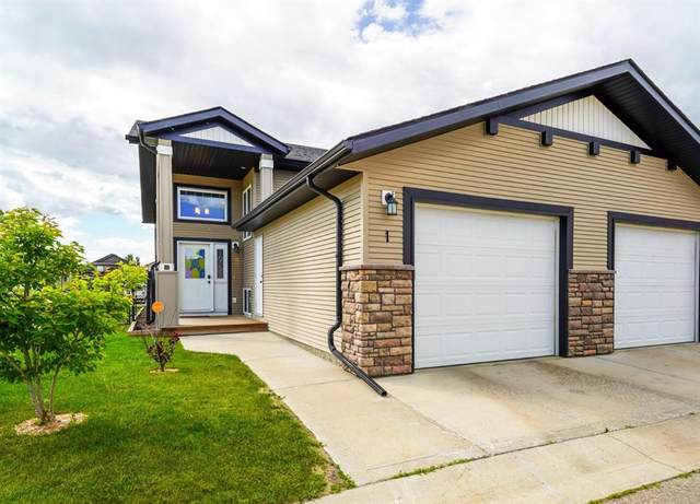 4546 Iron Wolf Place #1, Lacombe, AB T4L 0G1 (#A1103548) :: Canmore & Banff