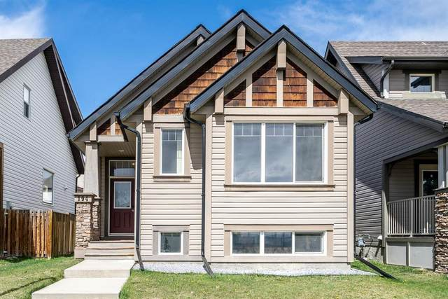 194 Sunset Heights, Cochrane, AB T4C 0C9 (#A1103813) :: Redline Real Estate Group Inc