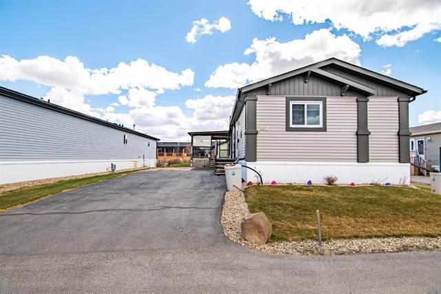 15 Mackenzie Ranch Way #102, Lacombe, AB T4L 0B4 (#A1104181) :: Calgary Homefinders