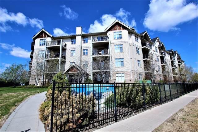 100 Lakeway Boulevard #407, Sylvan Lake, AB T4S 0A4 (#A1104349) :: Western Elite Real Estate Group