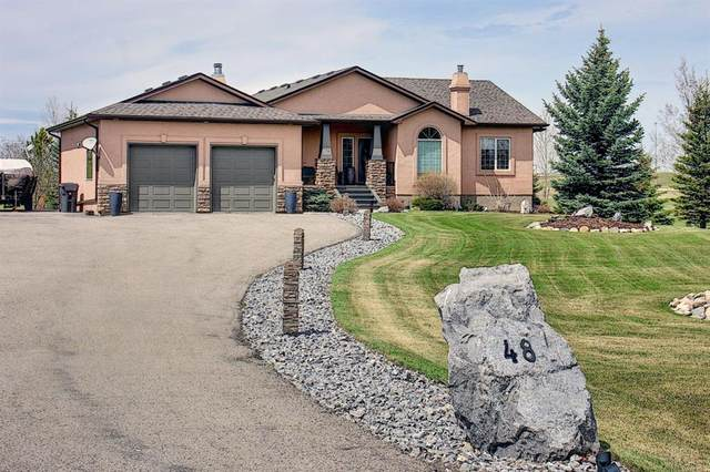48 Silvertip Drive, Rural Foothills County, AB T1V 1Z2 (#A1104358) :: Calgary Homefinders