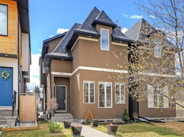 413 31 Avenue NW, Calgary, AB T2M 2P5 (#A1104669) :: Calgary Homefinders