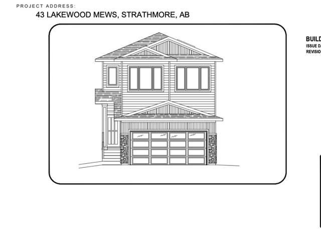 43 Lakewood Mews, Strathmore, AB T1P 0G6 (#A1104892) :: Western Elite Real Estate Group