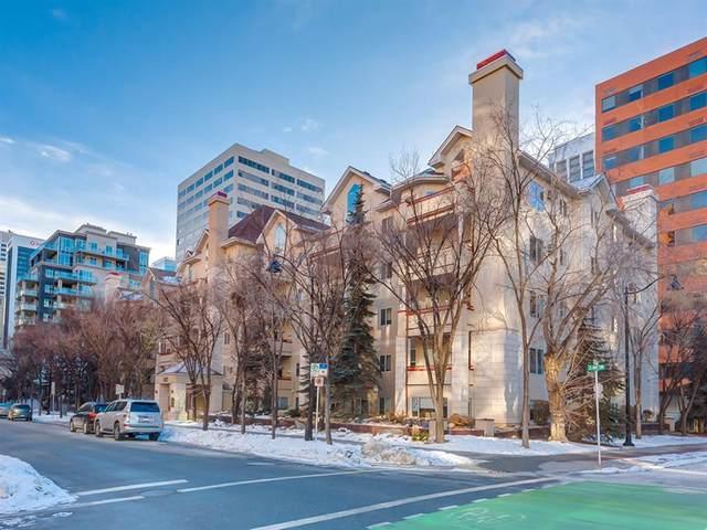 777 3 Avenue SW #112, Calgary, AB T2P 0G8 (#A1105150) :: Calgary Homefinders