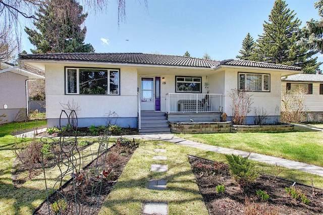 15 Creston Crescent NW, Calgary, AB T2M 4J9 (#A1105403) :: Calgary Homefinders