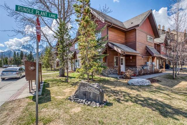 100 Rundle Drive #24, Canmore, AB T1W 0B5 (#A1105828) :: Canmore & Banff