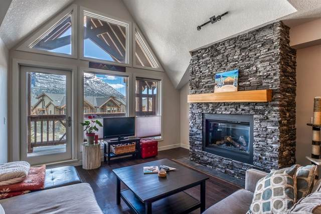 106 Stewart Creek Landing #304, Canmore, AB T1W 0G6 (#A1106247) :: Canmore & Banff