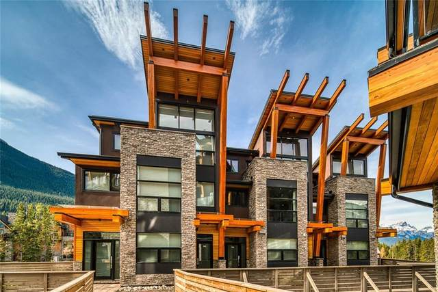 101G Stewart Creek Rise #104, Canmore, AB T1W 0K2 (#A1106311) :: Canmore & Banff