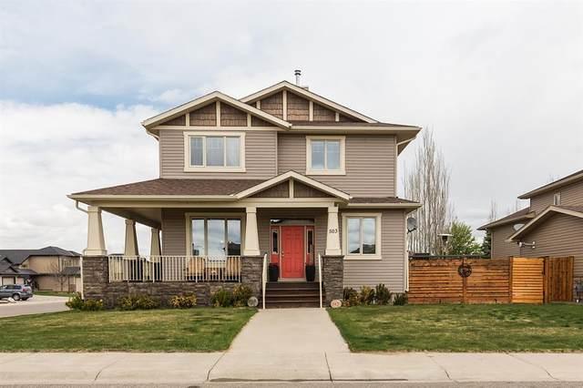 503 Canyon Cove W, Lethbridge, AB T1K 2N4 (#A1106371) :: Calgary Homefinders