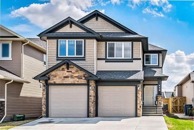 259 Cimarron Vista Court, Okotoks, AB T1S 0L5 (#A1106522) :: Calgary Homefinders