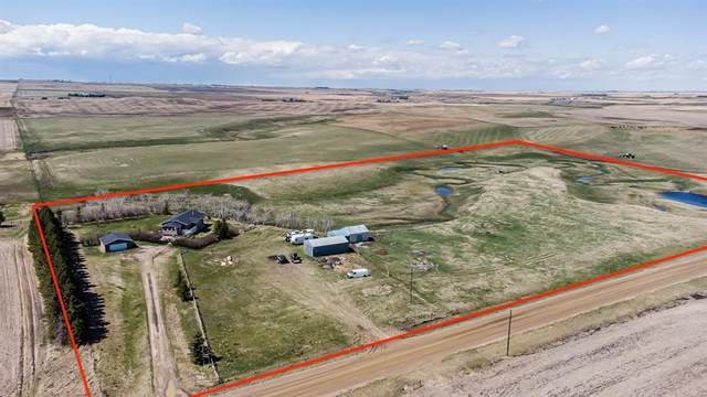 283003 Rge Rd 285, Rural Rocky View County, AB T0M 0S0 (#A1106553) :: Calgary Homefinders
