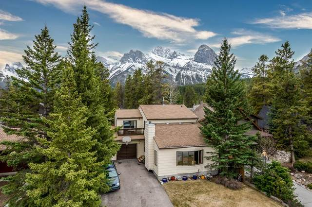 1217 16TH Street, Canmore, AB T1W 1T7 (#A1106588) :: Calgary Homefinders