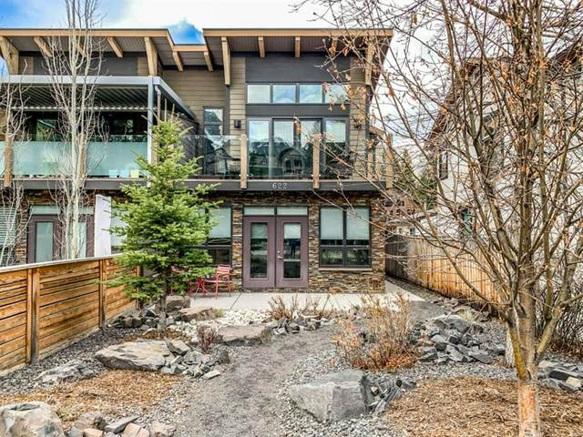 622 4 Street, Canmore, AB T1W 2H3 (#A1106603) :: Calgary Homefinders