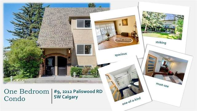 2212 Paliswood Road SW #9, Calgary, AB T2V 4Y6 (#A1106639) :: Western Elite Real Estate Group