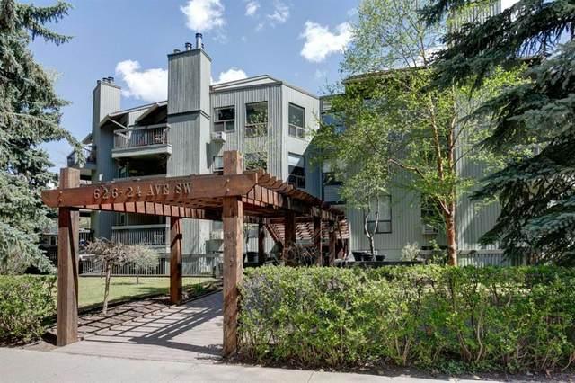 626 24 Avenue SW #204, Calgary, AB T2S 0K6 (#A1106884) :: Calgary Homefinders