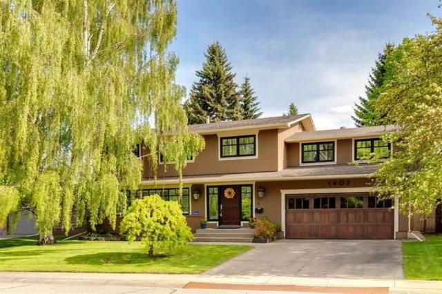 1407 Kerwood Crescent SW, Calgary, AB T2V 2N7 (#A1106964) :: Calgary Homefinders