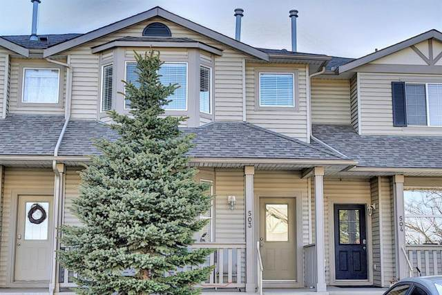 2001 Luxstone Boulevard SW #503, Airdrie, AB T4B 2Y6 (#A1106987) :: Calgary Homefinders
