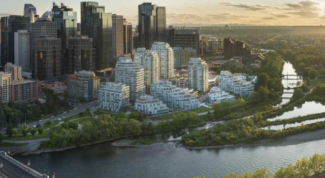 128 Waterfront Court SW #501, Calgary, AB T2P 1K7 (#A1107113) :: Calgary Homefinders