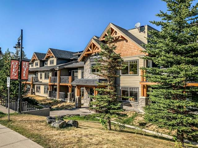 250 2nd Avenue #4108, Dead Man's Flats, AB T1W 2W4 (#A1107377) :: Canmore & Banff