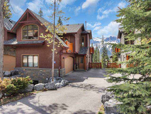 125 Stonecreek Road #2, Canmore, AB T1W 3A6 (#A1107541) :: Canmore & Banff